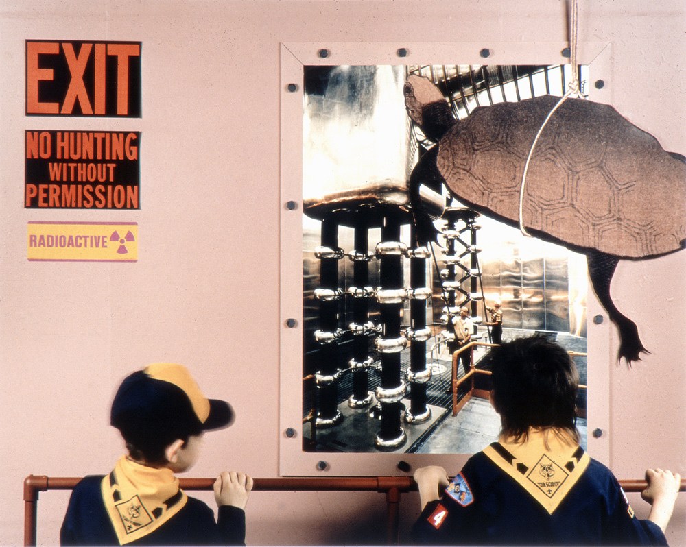 Hojo-e/Releasing of Life, H Injector, LAMPF Accelerator, Clinton P. Anderson Meson Physics Facility, Los Alamos National Laboratory, New Mexico, 1991, Chromogenic print (Ilfocolor Deluxe), 17 X 22