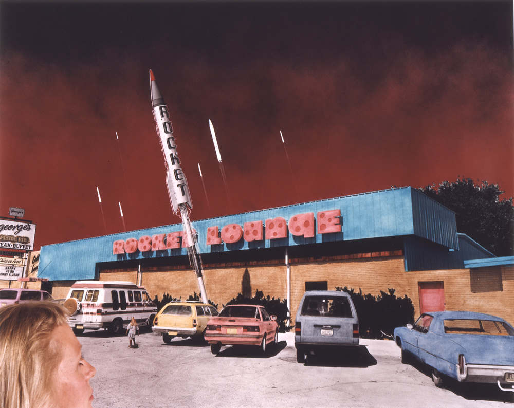 Rocket Lounge, Alamogordo, New Mexico, 1989 & 1993, Chromogenic print (Ilfocolor Deluxe), 17 X 22 and 27 3/4 X 35 1/2