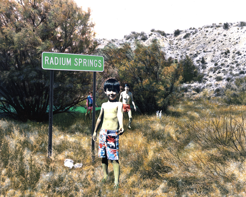 Radium Springs, New Mexico, 1989, Chromogenic print (Ilfocolor Deluxe), 17 X 22