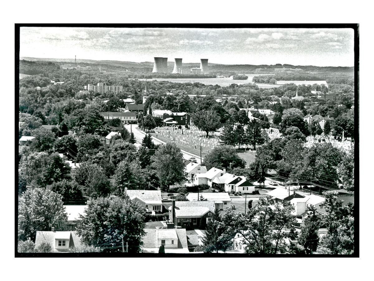 Middletown Pa. closest-town to the damaged reactor