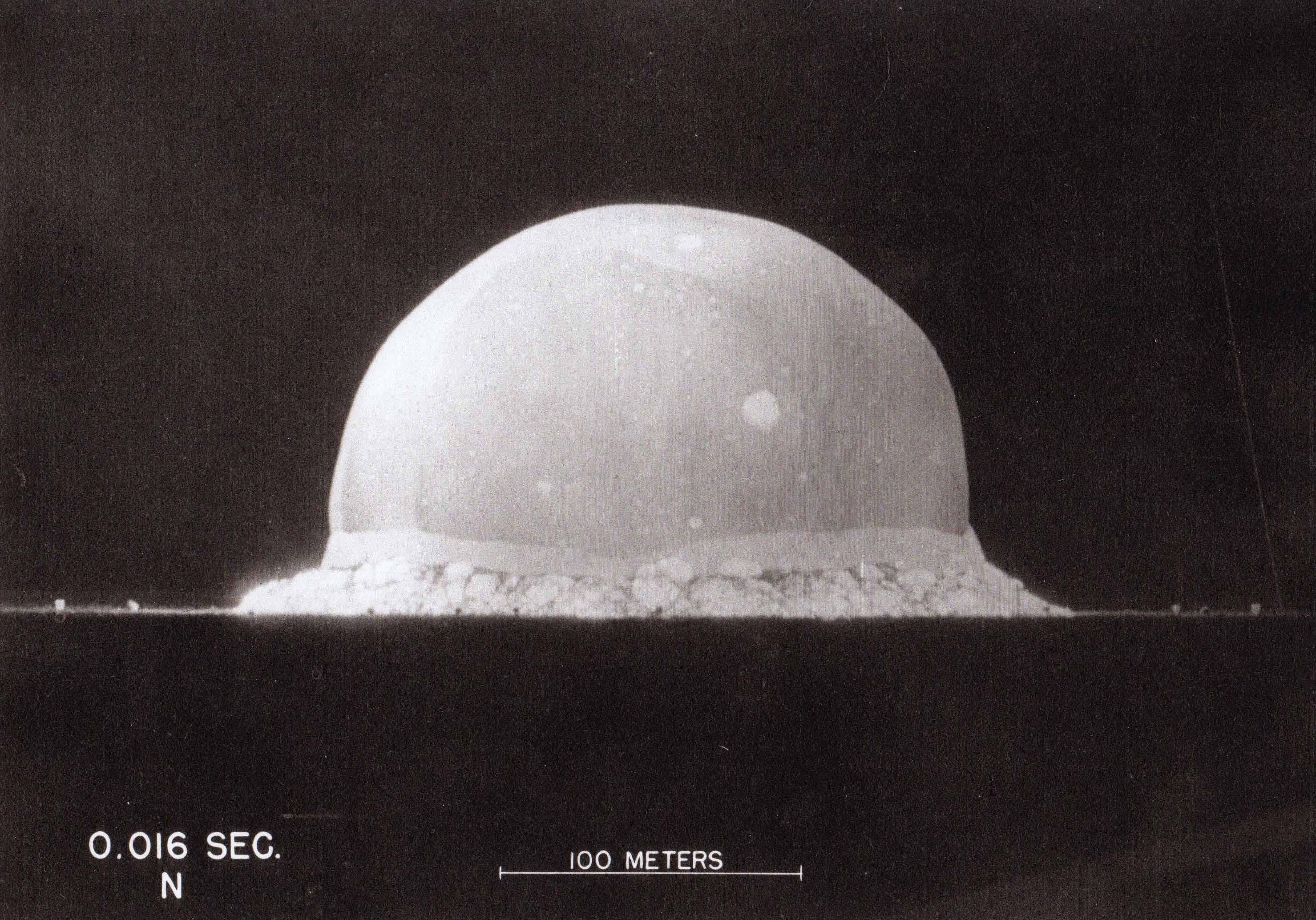 Trinity Detonation .016 seconds