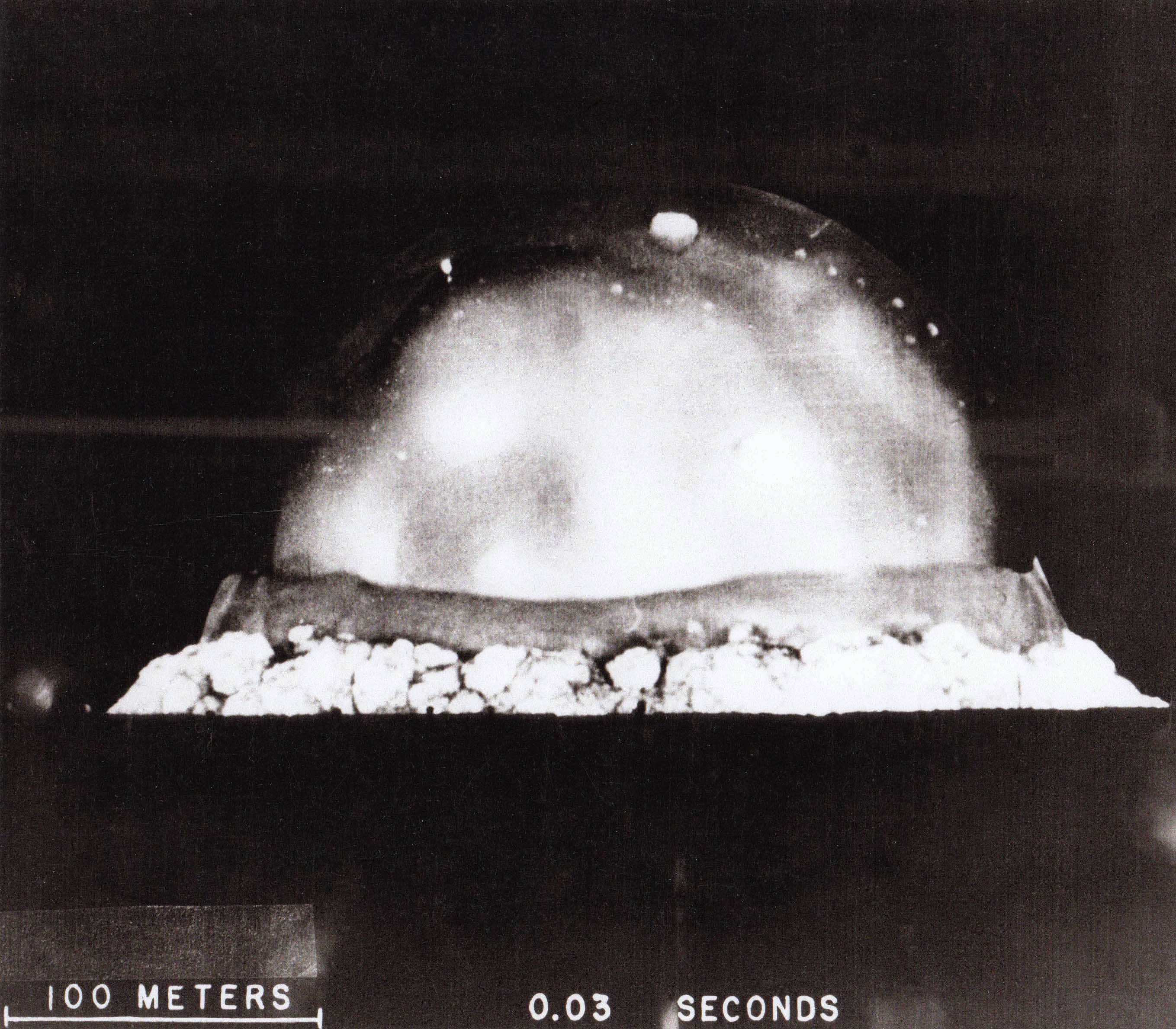 Trinity Detonation .003 seconds