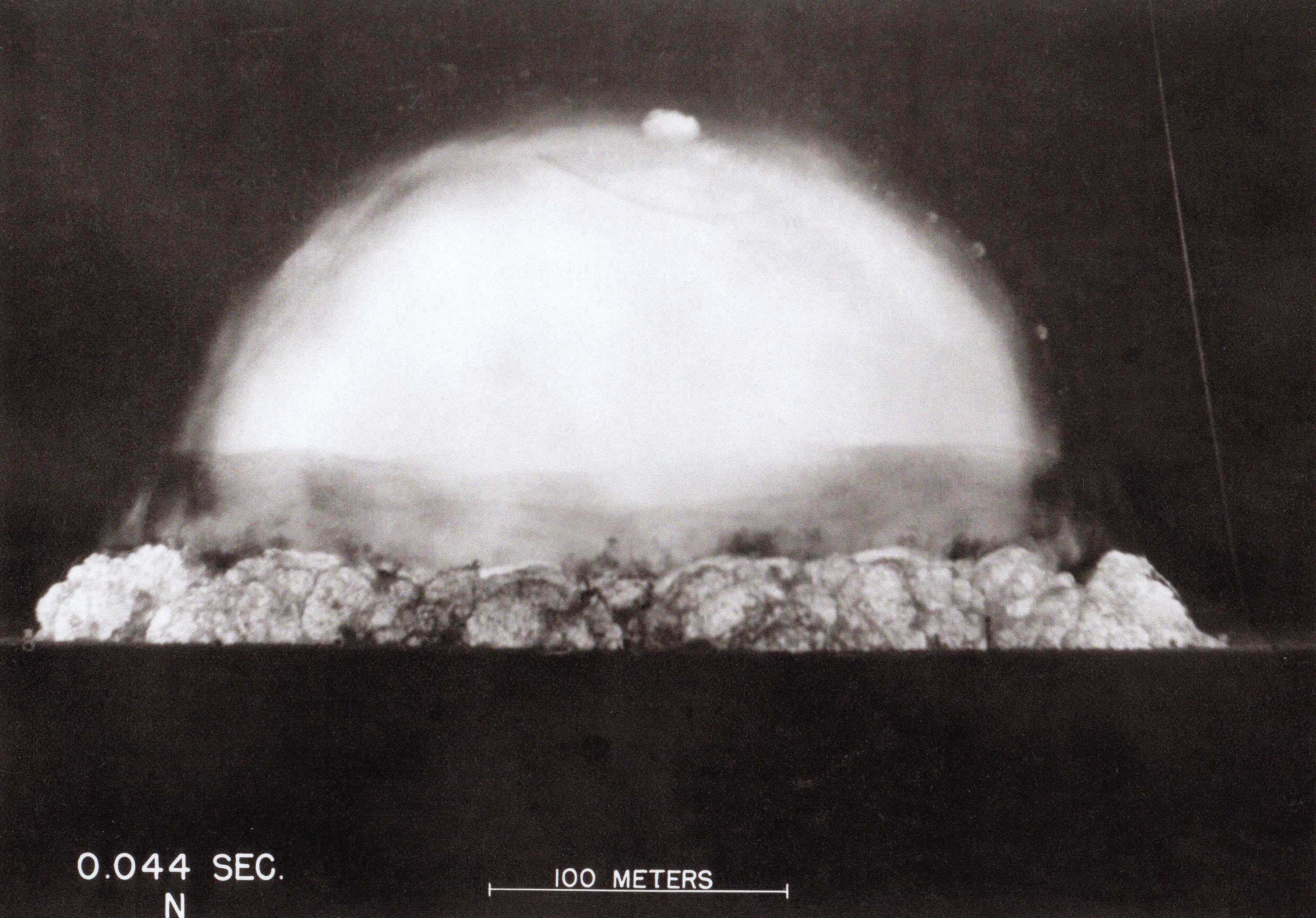 Trinity Detonation .044 seconds