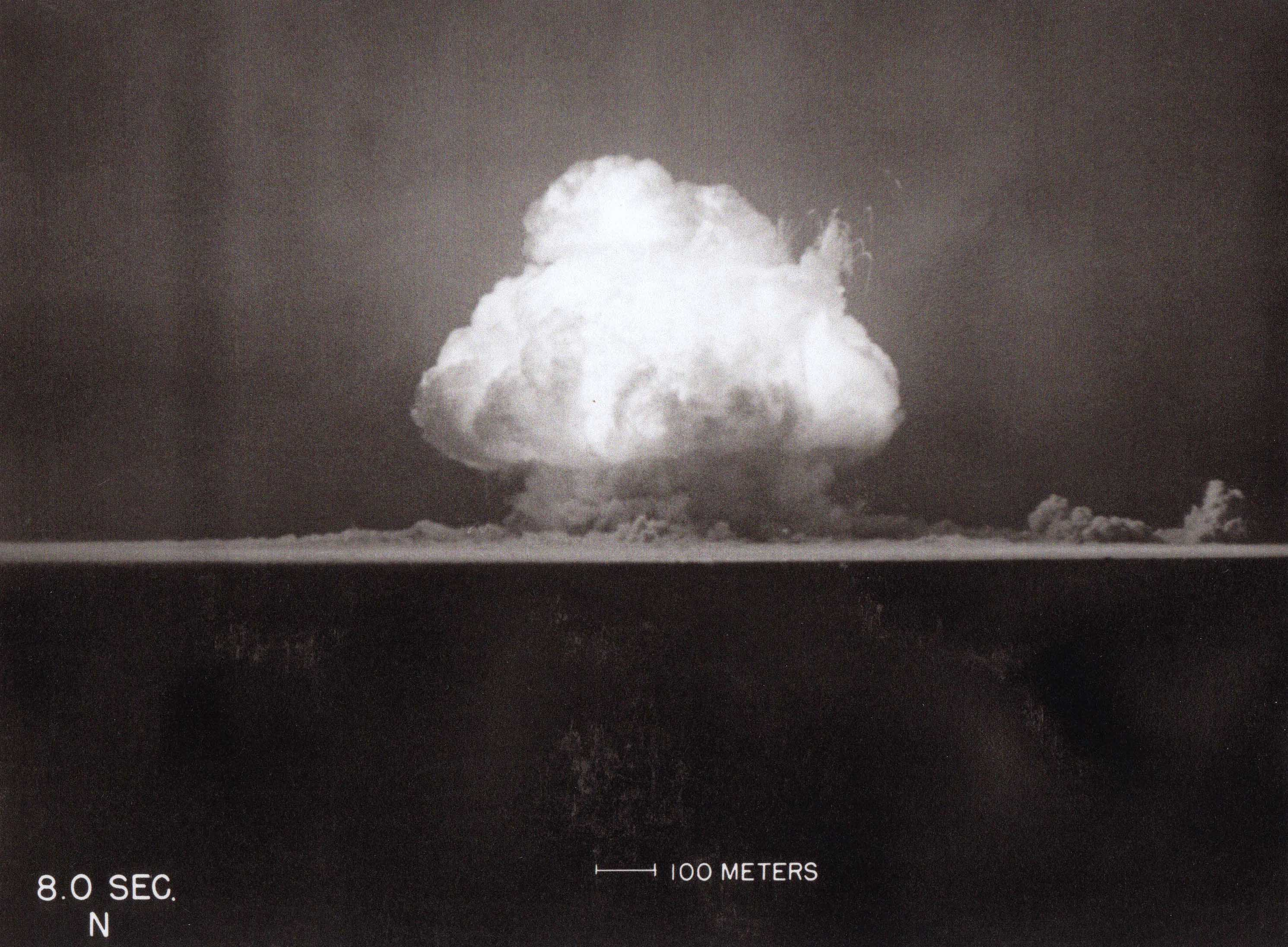 Trinity Detonation 8.0 seconds