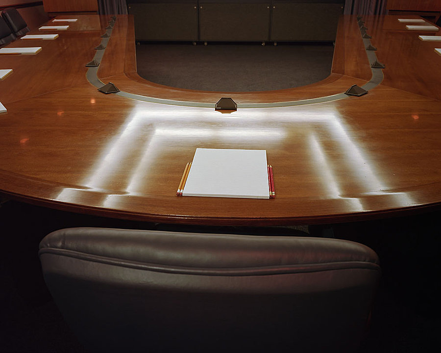 Joint Chiefs of Staff Conference Room, National Military Command Center, the Pentagon, Washington, DC, 1993