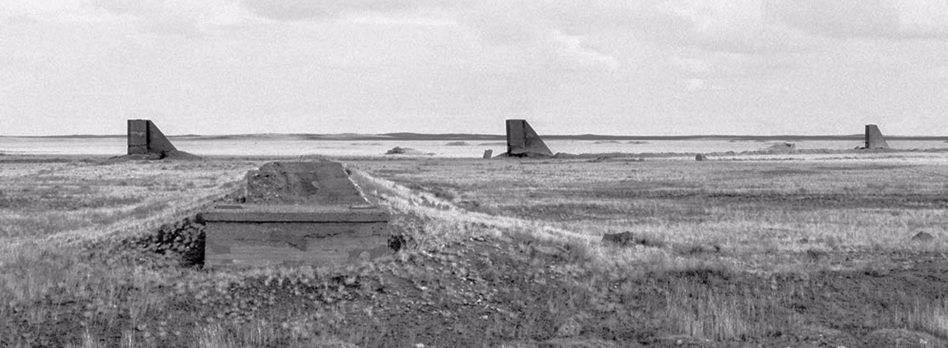 Opytnoe Pole. Semipalatinsk nuclear test site. Kazakhstan - Ursula Schulz-Dornburg