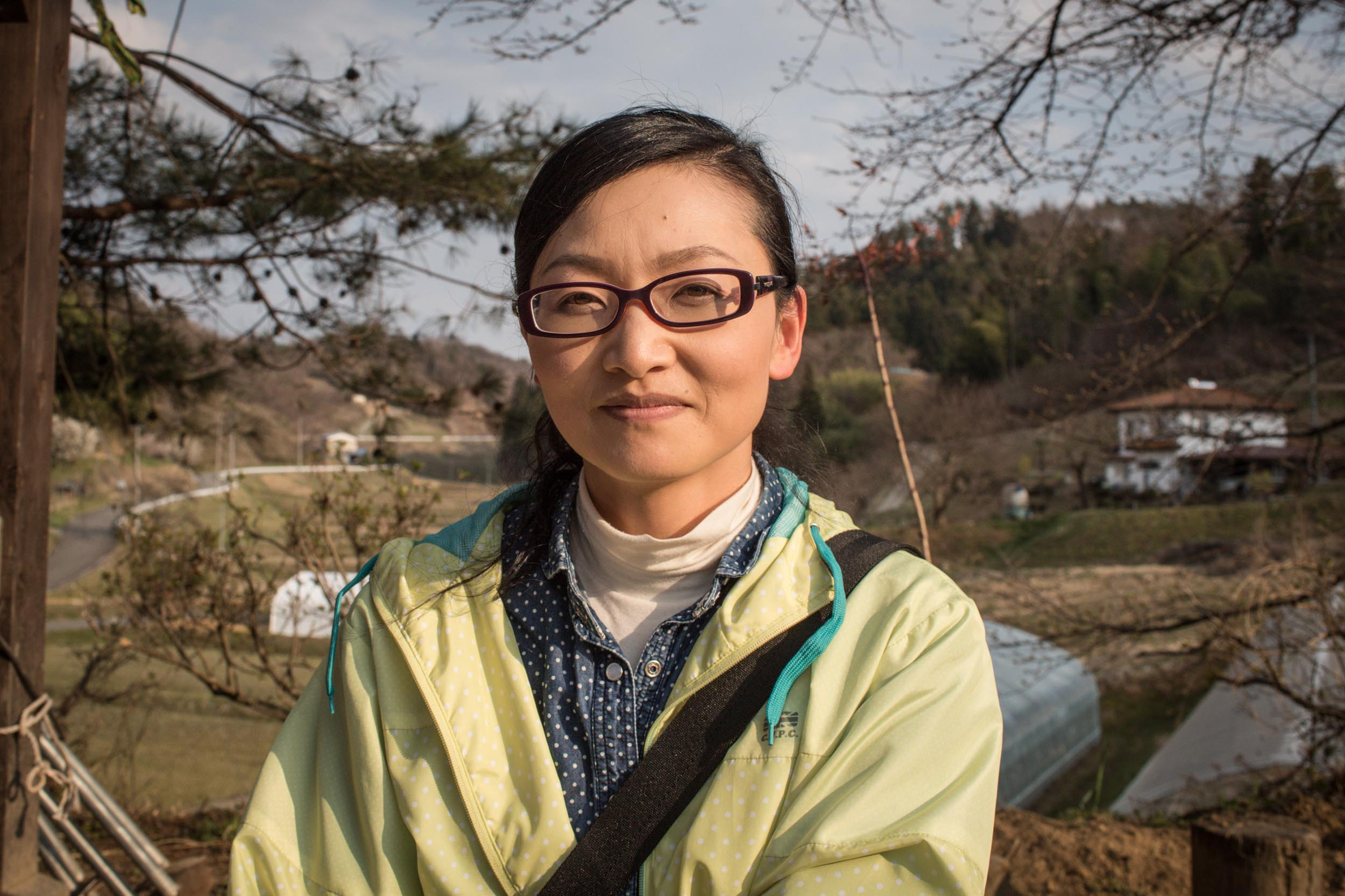 Shizue Sakuma, a 45 year old homemaker from Towa ward of Nihonmatsu city. Ms Sakuma is part of Nariwai Sosho, a lawsuit of 4000 plaintiffs seeking consolation money and the restoration of their lives lost to the nuclear accident.